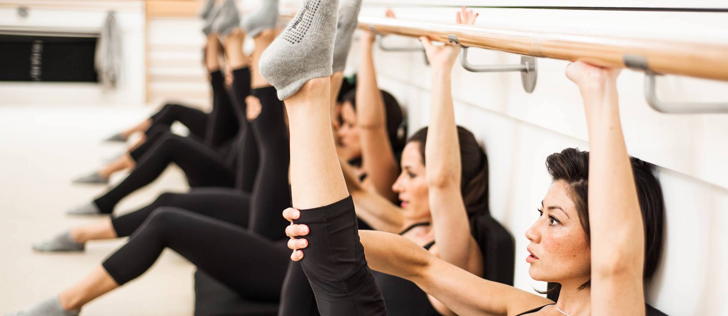 The Bar Method workout barre
