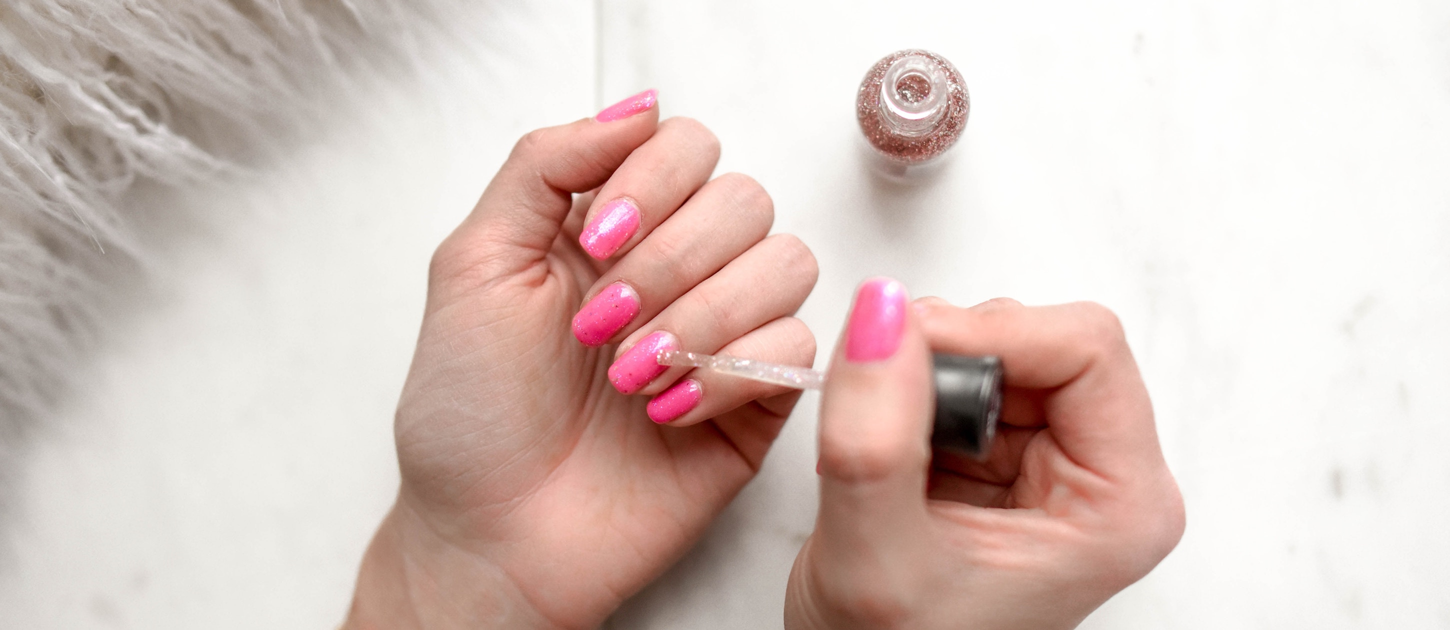 pink nail trend