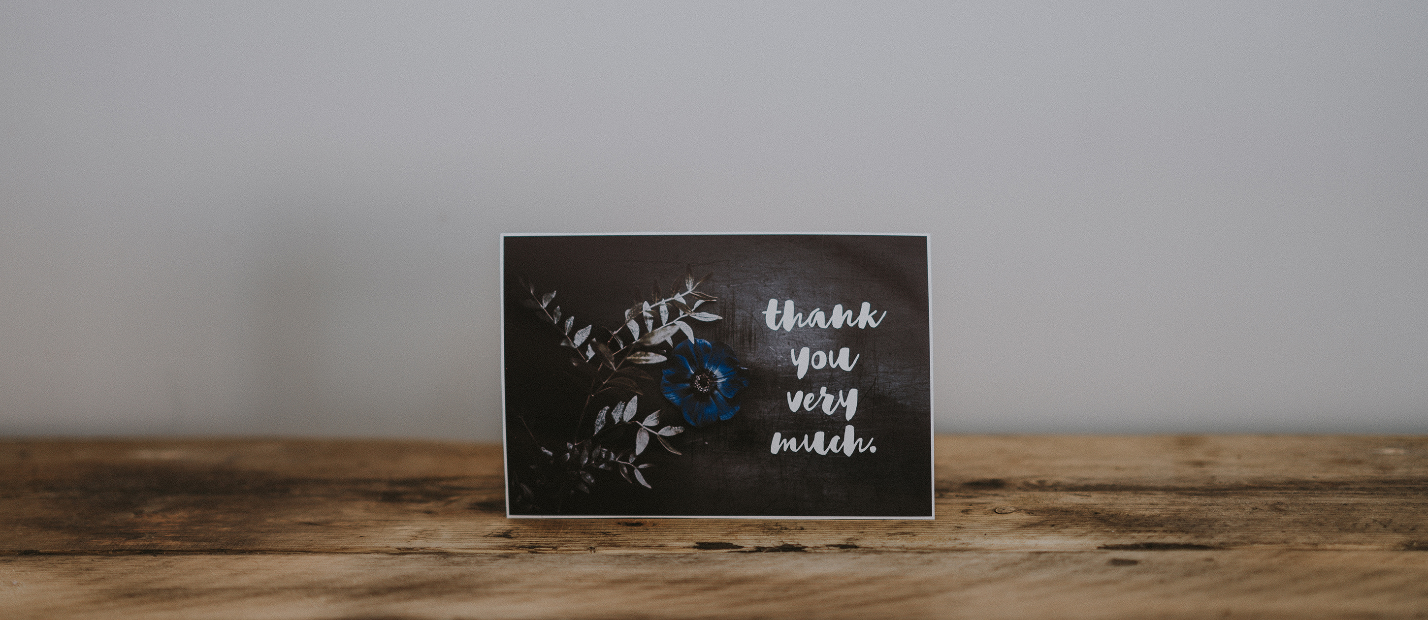 Fitness wellness thank you note