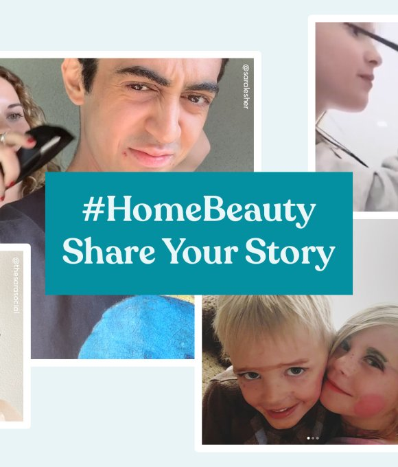 home beauty images and title