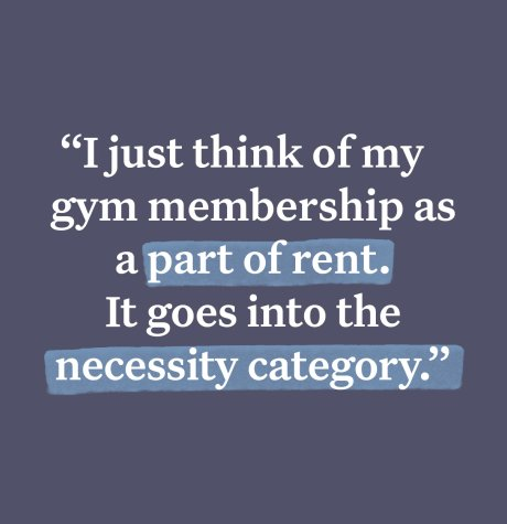 fitness in the rent category