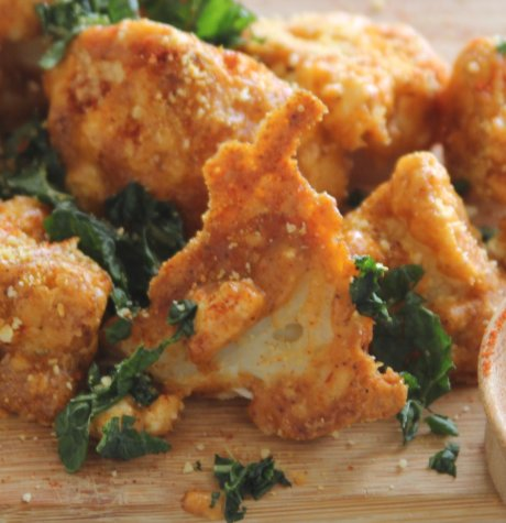 cauliflower wings healthy recipe
