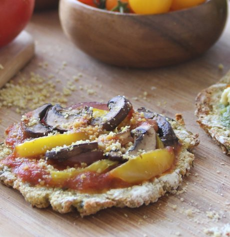 cauliflower mini pizzas healthy recipe